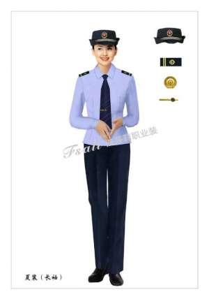 执法制服女装时尚装