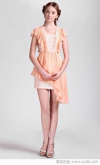 不对称的美之斜裙摆